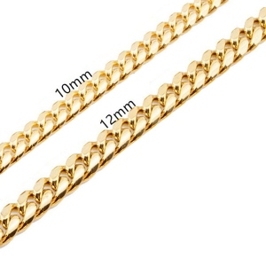 Men's Iced Out Hip Hop Cuban Link Chain