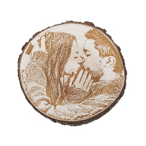 Engraving Wooden Photo Decor