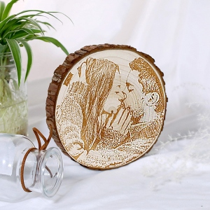 wooden photo