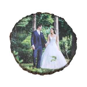 Personalized Wooden Photo Decor for 5th Anniversary