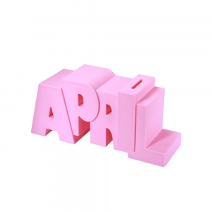 Personalized 3D Printing Name Piggy Bank for Child