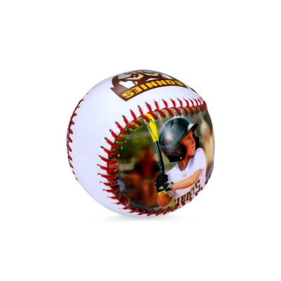 Personalized Photo & Logo Baseball Gift