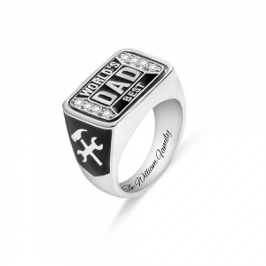 Championship Family Ring For Father