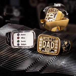 Best Dad Championship Family Ring