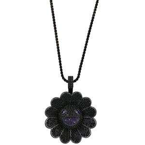 Murakami Flower Fidget Spinner Pendant