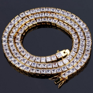 CZ Iced Out Tennis Chain