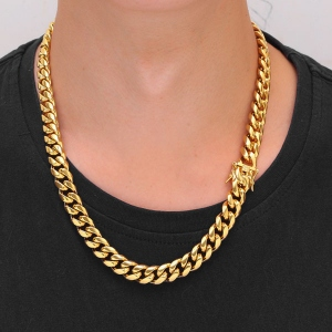 Men's Cuban Link Chain Necklace