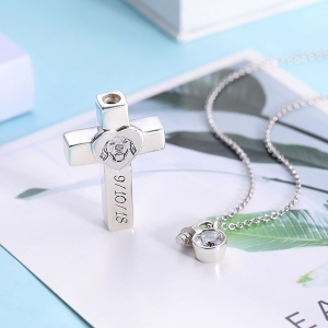 baby cremation jewelry
