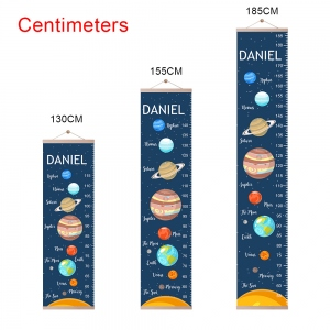Personalized Solar System Name Growth Chart