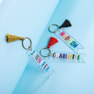 custom name keychains
