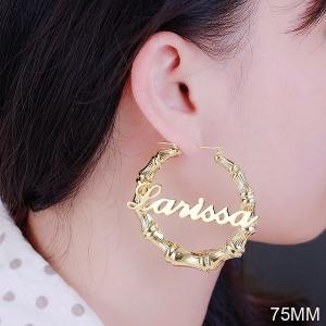 Custom Name Earring