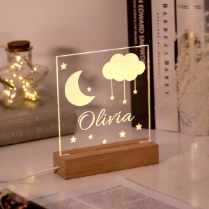 Callie Personalized Name Night Light for Children