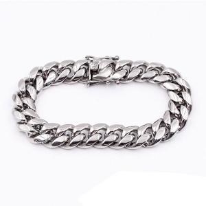 Men's Cuban Curb Link Bracelet
